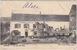 24025g  RESTAURANT - CREMERIE -  CAFE - Le RIZ De MER - Ombret - Amay