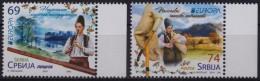 Rabbit Deer Otter  - 2014 Serbia - MNH - Stamps