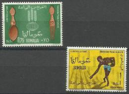 Somalia - 1963 Freedom From Hunger Set Of 2 MNH **        SG 401-2  Sc 269 & C89 - Somalia (1960-...)