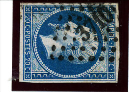 France 1853   (n°14 Ob. PC. 3710  -  Alger) - 1853-1860 Napoleone III