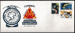 """ANTARCTIC, AAT, 18.2.1979 Antarctic-Expeditione """"APEX"""",Expeditions-cover, Look Scan !! 6.1-36 - Antarctic Expeditions"""