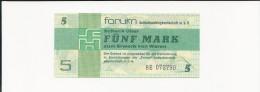 5,00 Mark Forumschein Der DDR 1979 Ro.369a - [14] Forum-Aussenhandelsgesellschaft MBH