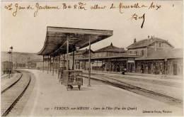 VERDUN-sur-MEUSE – Gare De L'Est ( Vue Des Quais ) ( Librairie Feys ) - Verdun