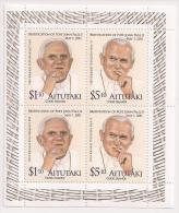 ait120101m Aitutaki 2012 Beatification of Pope John Paul II m/s Scott:580