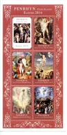 pen1402s1 Penrhyn 2014 Painting Easter s/s Raphael Rubens