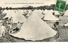 SAINT-MEDARD EN JALLES - 144° REGIMENT D´INFANTERIE TENTES GRANDES - Francia