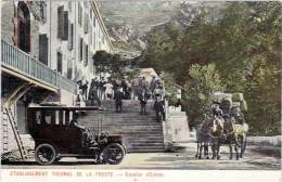 Etablissement Thermal De La Preste – Escalier   D'entrée (diligence, Automobile) - France