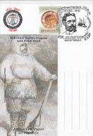 10467- AUSTRIAN- HUNGARIAN ARCTIC EXPEDITION, JULIUS VON PAYER, SPECIAL POSTCARD, 2007, ROMANIA - Arctic Expeditions