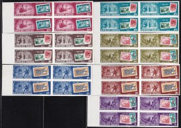Togo Stamp 70th Anniversary Block Of 4 Imperf, Missing 20F (fa025) MNH - Togo (1960-...)