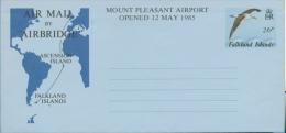 Falkland, 2 Aerogramme Luftbrücke Mit England (G5056) - Falklandeilanden
