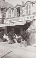 """80 LE CROTOY Carte Photo """"Restaurant De La Plage"""" Trancart Dally 16 R Des Chalets Superbe 2 Scans + 1 - Le Crotoy"""