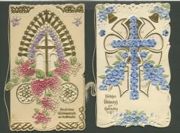 Glückwunschkarten 6 Kunstvolle Karten (XL5204) - Ansichtskarten