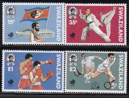 Swaziland Sports Karate Boxing Tennis (fa056) MNH - Swaziland (1968-...)