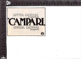 CO-644 MILANO BITTER CAMPARI L'APERITIVO CORDIAL CAMPARI PUBBLICITA - Chromos