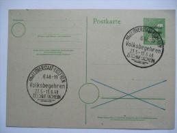 GERMANY 1948 VOLKSBEGEHREN SONDERSTEMPEL - Zona Soviética