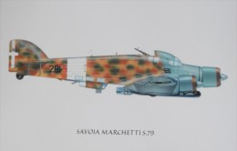 REGIA AERONAUTICA SAVOIA MARCHETTI S 79 132 GRUPPO 281 SQUADRIGLIA RODI 1941 - 1939-1945: 2nd War