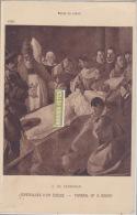 Funeraille D'un Eveque De F De Zurbaran (musée Du Louvre) - Pittura & Quadri