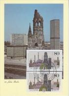Berlin 1987 750J. Berlin 2x1v  Maximum Card (19038) - Maximum Kaarten