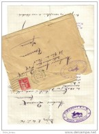 Lettre Saint Hubert Société De Chasse PLM Dijon - Vieux Papiers
