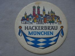 Ancien - Sous-Bock HACKERBRÄU MÜNCHEN Années 60 Allemagne/Deutschland - Portavasos
