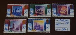 MiNr. 1180 - 1184 Großbritannien 1988, 15. Nov. Weihnachten #4374 - Unused Stamps