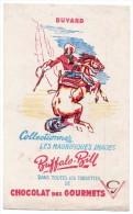 Buvard - Chocolat Des Gourmets - Buffalo Bill - Cocoa & Chocolat