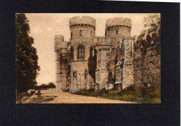 50710     Regno  Unito,   Windsor  Castle,  North  Terrace And  Norman  Tower,  NV - Windsor Castle