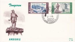 FDC N° 193 Ordi. Du 27-8-1966 - COB 1386-1388 - Cachet De Antwerpen - Tongeren - Ambiorix - 0,9€ - 1961-70