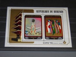 Burundi - 1970 EXPO '70 Block MNH__(TH-8609) - Burundi