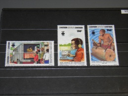 Cameroon - 1983 World Communications Year MNH__(TH-9599) - Kamerun (1960-...)