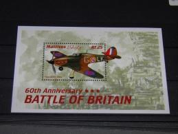 Maldives - 2001 Battle Of Britain Block (1) MNH__(TH-3151) - Malediven (1965-...)