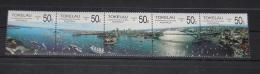 Tokelau - 1988 Sydney's Landscapes strip MNH__(THB-295)