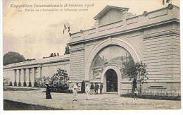 CPA80*AMIENS-exposition Internationale D Amiens 1906 Palais De L Automobile Et Vehicule Divers - Amiens