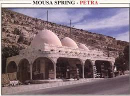 013U/  Jordan Jordanie Petra Mousa Spring Obliteration Speciale King Hussein Bridge - Jordanie