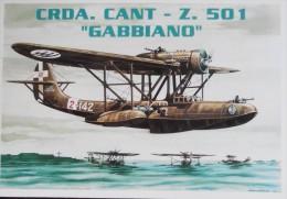 REGIA AERONAUTICA CANT Z 501 ANNIVERSARIO PRIMO VOLO PILOTA MARIO STOPPANI - 1939-1945: 2nd War