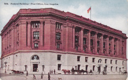 LOS ANGELES, California, 1900-1910's; Federal Building, Post Office