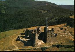 30 - En Avion Au Dessus Du Col De Portes : Le Château De POrtes - Castelli