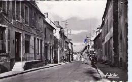 Seignelay.. Animée.. Rue Gatelot.. Café Du Commerce.. Patisserie - Seignelay