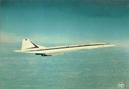 CPA-1980-AVION-CONCORDE-CIE  AIR FRANCE En VOL-TBE-LUXE