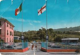 Riviera Azzurra Camping Lo Scoglio, Postcard Damaged As Per Scans - Italy