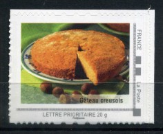 "Gateau Creusois Adhésif Neuf ** . Collector "" LE LIMOUSIN "" 2009 - France"