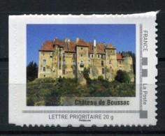 """Chateau De Boussac Adhésif Neuf ** . Collector """" LE LIMOUSIN """" 2009 - Collectors"""
