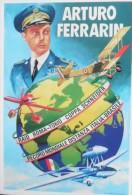REGIA AERONAUTICA ARTURO FERRARIN MOVM RECORD ITALIA BRASILE IDROVOLANTI COPPA SCHNEIDER - 1939-1945: 2nd War