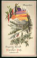 1 ORIGINAL  CPA Hold-to-light Postcard WWI - Uzcoker Pass Karpaten - Karpathen - Karpaty - - Weltkrieg 1914-18