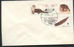 OTTER DDR U7 Umschlag Sost. 1987 Kat. 5,00 € - Autres