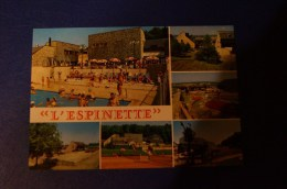 CP    D´HOTEL-RESTAURANT        L'ESPINETTE  NY 5450(HOTTON) BELGIQUE - Hoteles & Restaurantes