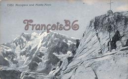 (Suisse) - Switzerland - Valais - Moropass Und Monte-Moro - 2 SCANS - VS Valais