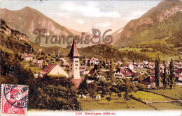 (Suisse) - Switzerland - Berne - Meiringen(599 M) - 2 SCANS - BE Berne