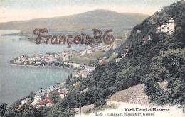 (Suisse) - Switzerland - Vaud - Mont-Fleuri Et Montreux - 2 SCANS - VD Vaud