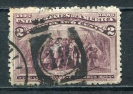 USA Nr.74 PF III            O  Used       (5059) Plattenfehler: Rahmen Unten Rechts Teilweise Fehlend